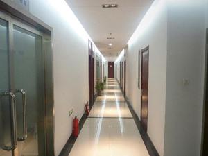 河北恒银期货办公区走廊